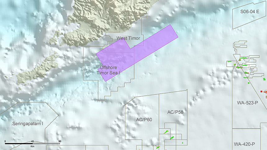 West Timor survey area to be included in future licensing