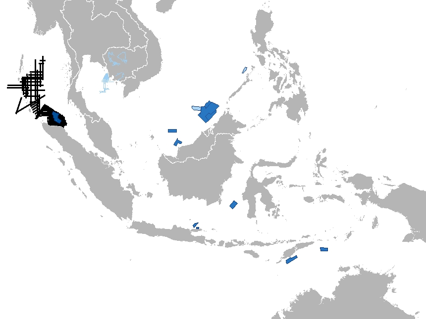 Asia | MultiClient 2D and 3D seismic data for oil & gas