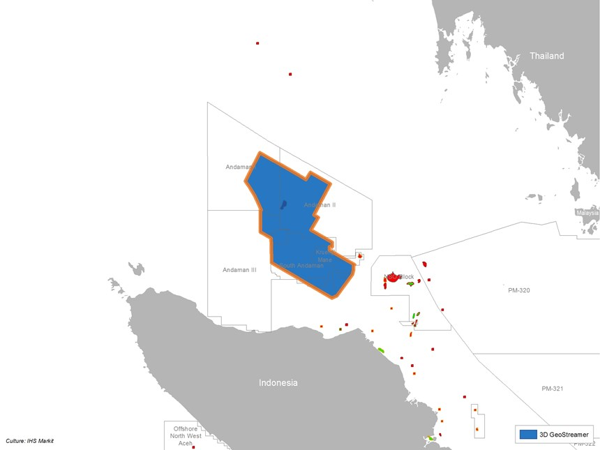 Website Map for Survey North Sumatra MC3D