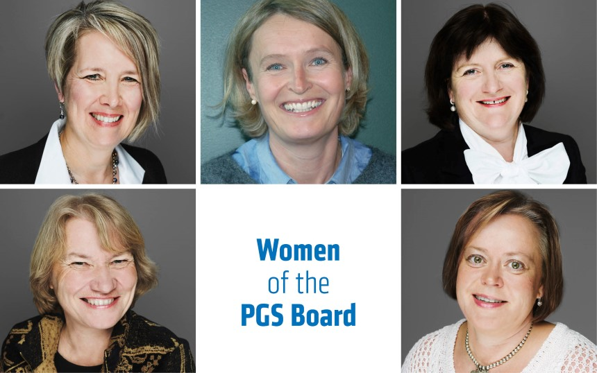 Five highly competent women are members of the PGS Board of Directors