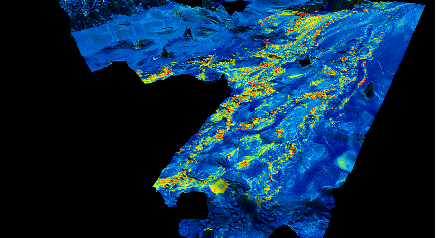 Deepwater Miocene channel systems within the Congo MegaSurvey.