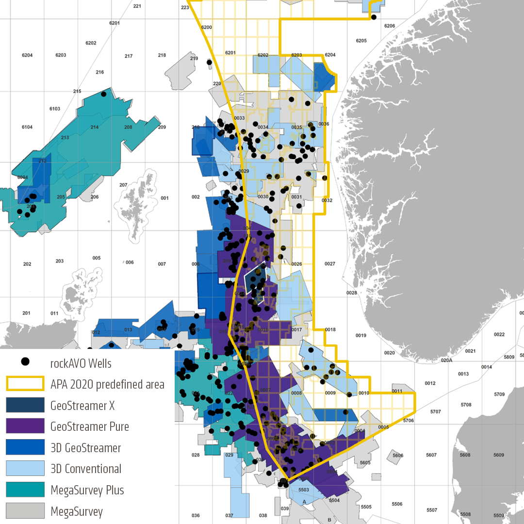 APA 2020 PGS data North Sea