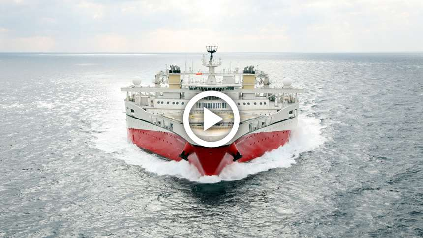 Video - The Fleet to Beat - Ramform Tethys - Penta Source in the Barents Sea.